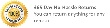 365 Day No Hassle Returns