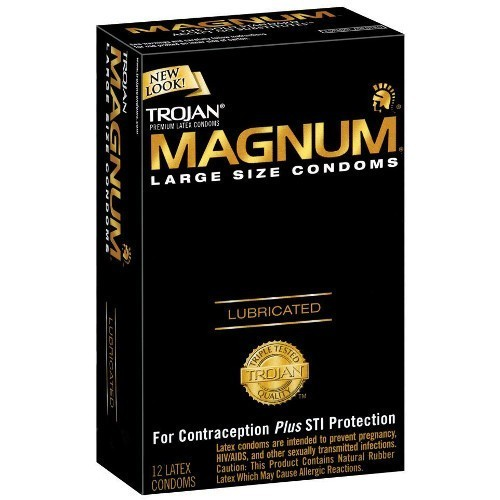 Trojan Magnum Condoms (12 pack)