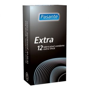 Pasante Extra Condoms (12 Pack)