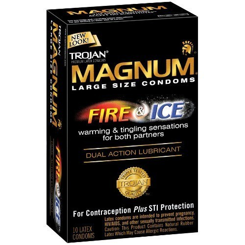 Trojan Magnum Fire and Ice (10 Pack)
