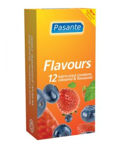 Pasante Flavours Condoms (12 Pack)