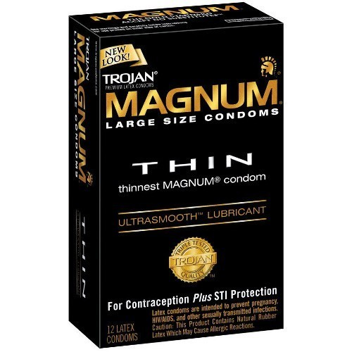Trojan Magnum Thin Condoms (12 pack)