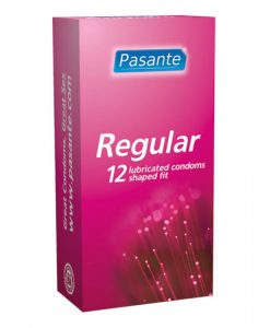 Pasante Regular Condoms (12 Pack)