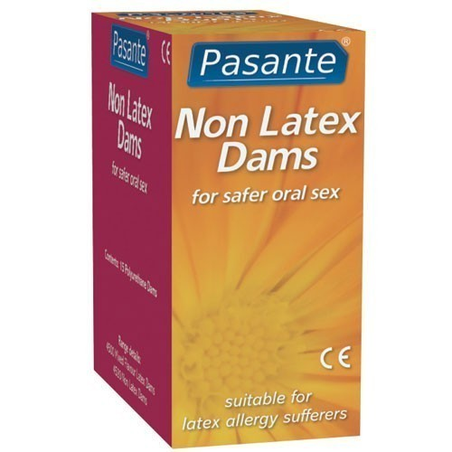 Pasante Non Latex Dams (5 Pack)