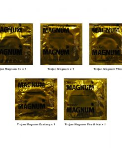 Trojan Magnum Condoms Trial Pack (5 Pack)