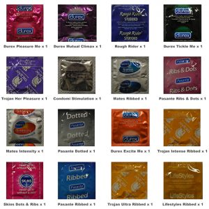 Textured Condoms Trial Pack (16 Pack)