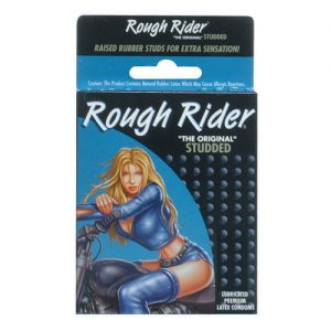 Rough Rider Studded Condoms (12 Pack)