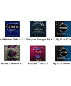 Small Size Condoms Trial Pack (6 Pack)