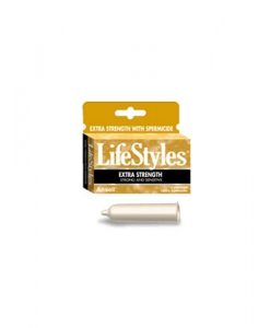 LifeStyles Extra Strength Condoms (12 Pack)