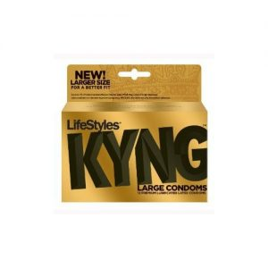 LifeStyles King Size XL Condoms (12 Pack)