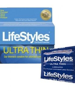 LifeStyles Ultra Thin Condoms (12 Pack)