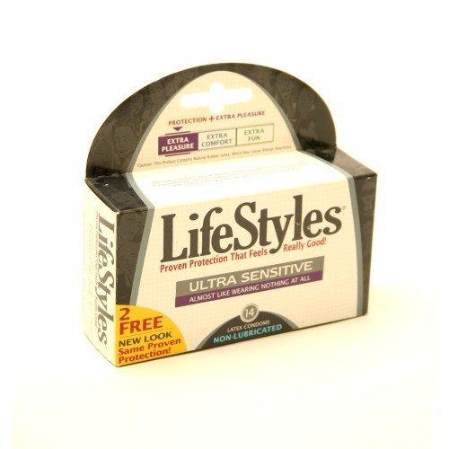 LifeStyles Non Lubricated Condoms (12 pack)