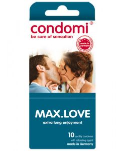 Condomi Max Love Condoms (10 pack)