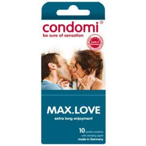 Condomi Max Love Condoms (10 pack)