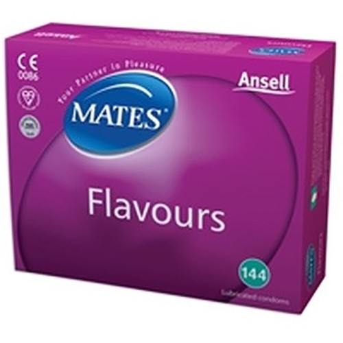 Mates Flavours Bulk Condoms (288 Pack)