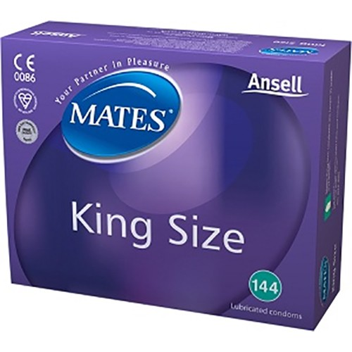 Mates King Size Bulk Condoms (288 Pack)