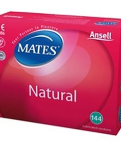 Mates Natural Bulk Condoms (288 Pack)