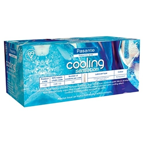 Pasante Cooling Bulk Condoms (288 Pack)