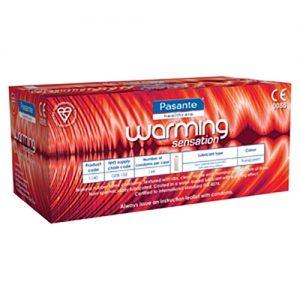 Pasante Warming Bulk Condoms (288 Pack)