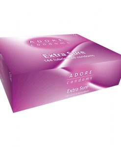 Adore Extra Sure Bulk Condoms (288 Pack)