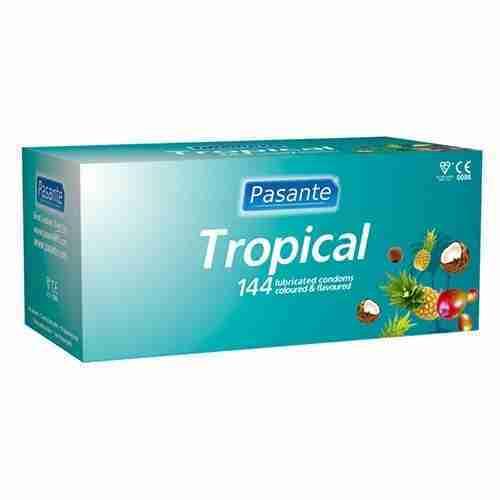Pasante Tropical Bulk Condoms (288 Pack)