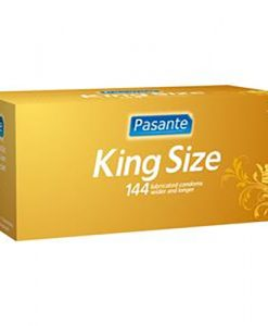 Pasante King Size Bulk Condoms (288 Pack)