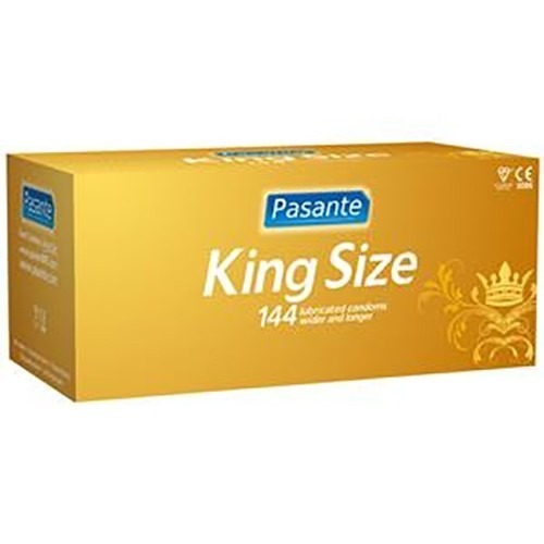 Pasante King Size Bulk Condoms (288 Pack)