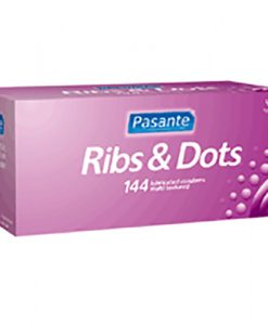 Pasante Ribs & Dots Bulk Condoms (288 Pack)