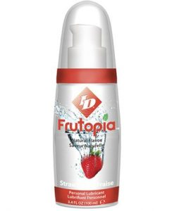 ID Frutopia Lubricant Pump - Strawberry 100 ml