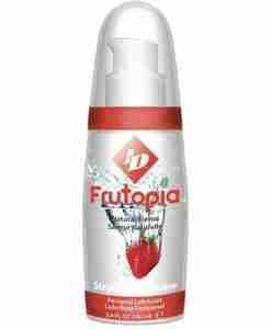 ID Frutopia Lubricant Pump - Strawberry 100 ml
