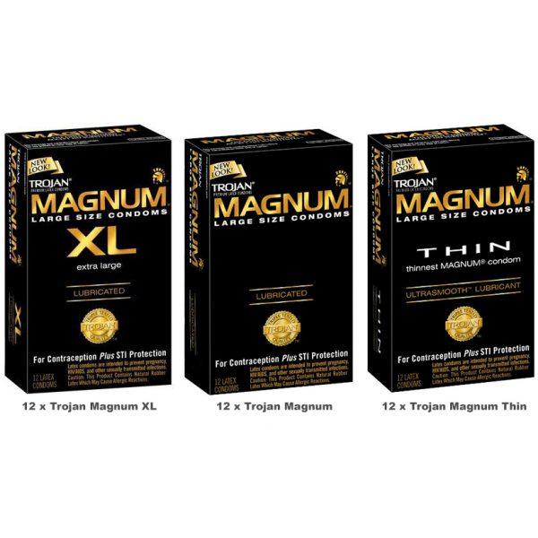 Trojan Magnum Value Pack (36 Pack)