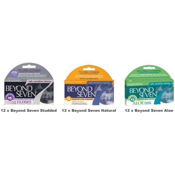 Beyond Seven Condoms Value Pack (36 Pack)