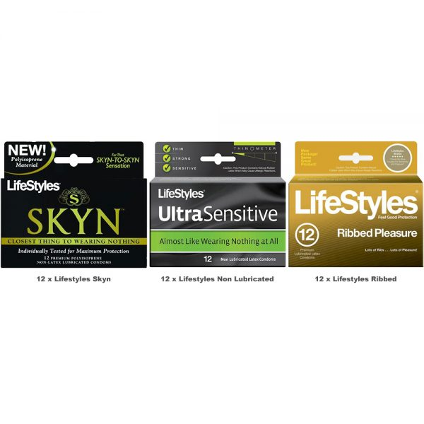 Lifestyles Condoms Value Pack (36 Pack)