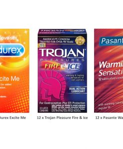 Sensation Condoms Value Pack (36 Pack)