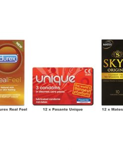 Non Latex Condoms Value Pack (36 Pack)