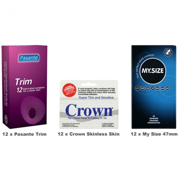 Small Size Condoms Value Pack (36 Pack)