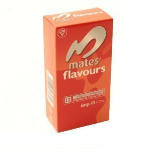 Mates Flavours Condoms (12 pack)