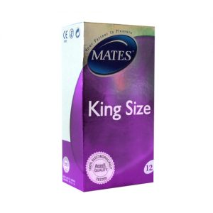 Mates King Size Condoms (12 Pack)