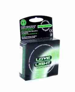 Love Light Condoms (3 pack)