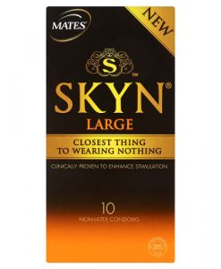 Mates Skyn Large Condoms (10 Pack)