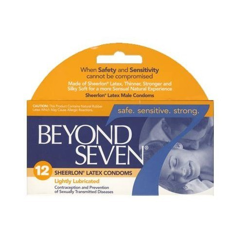 Beyond Seven Natural Condoms (12 pack)
