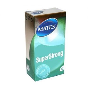 Mates Super Strong Condoms (12 pack)