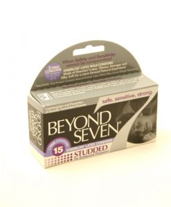Beyond Seven Studded Condoms (12 pack)