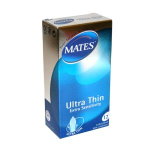 Mates Ultra Thin Condoms (12 pack)