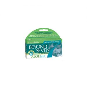 Beyond Seven With Aloe Condoms (12 Pack)
