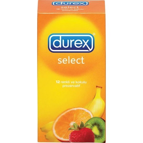 Durex Select Condoms (12 pack)